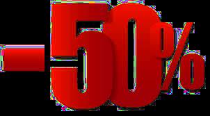 50 posto snizenje