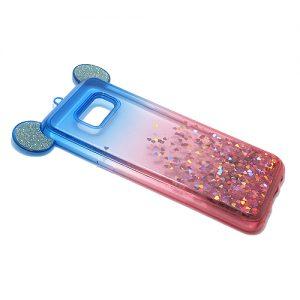 Maska za Samsung S8 Plus plavo pink (F48591)