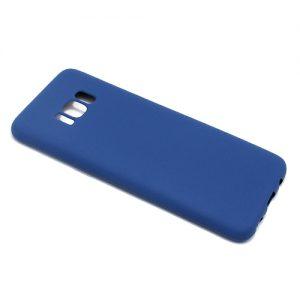 Maska za Samsung S8 tamno plava od silikona (F58523)