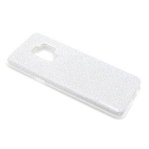Maska za Samsung S9 srebrne šljokice (F60603)