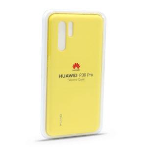Maska za Huawei P30 Pro Original žuta (F81415)