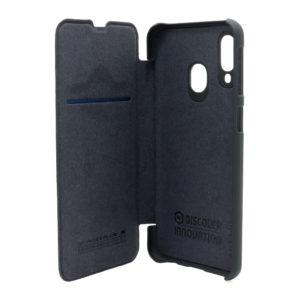 Futrola za Samsung A40 crna kožna (F80132)