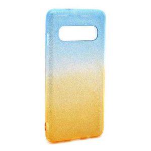 Maska za Samsung S10 plavo zlatna (F76649)