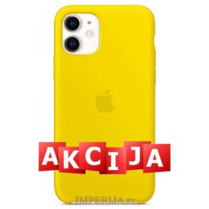 Maska za iPhone 11 žuta