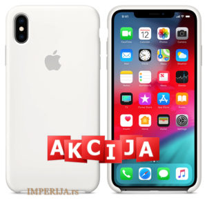 Maska za iPhone XS Max bela