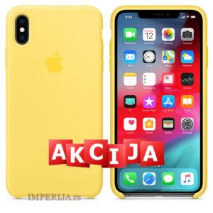 Maska za iPhone XS Max žuta