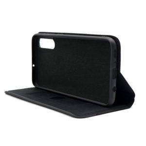 Samsung A70 futrola crna štof (F82587)