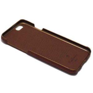 Maska za iPhone 6 tamno braon kožna (F36343)