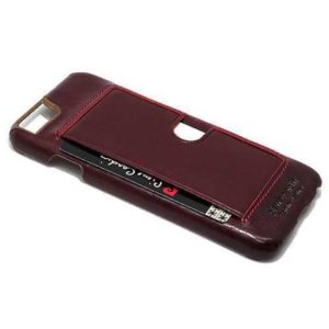 Maska iPhone 6 bordo kožna (F34582)