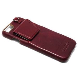 Maska za iPhone 6s bordo kožna (F34578)