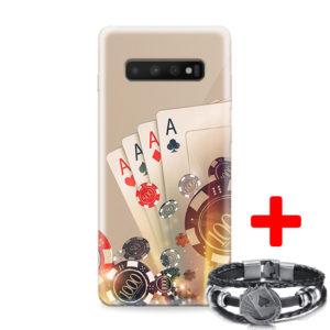 Print maska za Samsung S10 poker