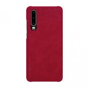 Kožna futrola za Huawei P30 crvena NILLKIN