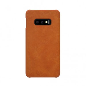 Kožna Futrola za Samsung S10e braon (65466)
