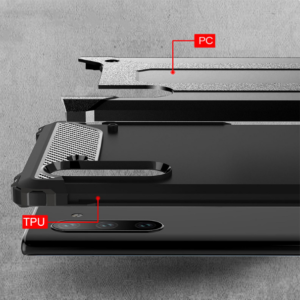 Huawei P40 Lite Defender maska crna
