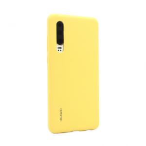 Original maska za Huawei P30 žuta