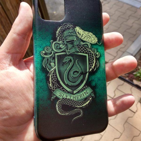 print maska iphone 11 slytherin