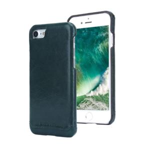 Kožna maska iPhone SE zelena + 🎁 POKLON zaštitno staklo