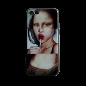 Print maska iPhone 8 Mona Liza