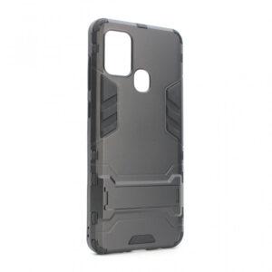 Samsung A21s Defender maska crna sa držačem