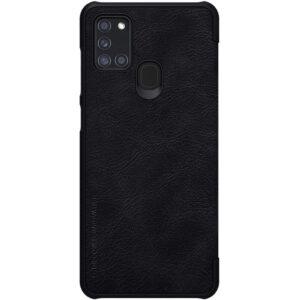 Kožna Samsung A21s futrola crna (82897)