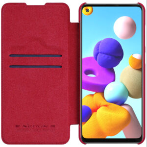 Kožna Samsung A21s futrola crvena (82898)