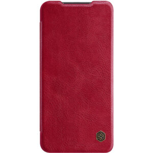 Kožna Redmi Note 9 futrola crvena (82738)