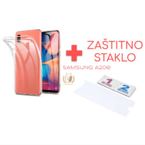 Maska Samsung A20e providna + Zaštitno staklo