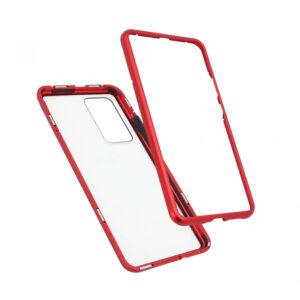 Huawei P40 Pro magnetna maska 360° crvena (80622)