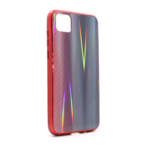 Huawei Y5p maska Karbon Glass crvena (84011)