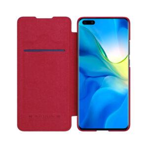 Kožna Futrola za Huawei P40 Pro crvena (79742)