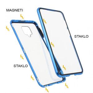 Redmi Note 9 Pro magnetna maska 360° plava (83353)