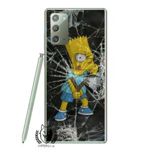 Bart Print Maska Samsung Note 20