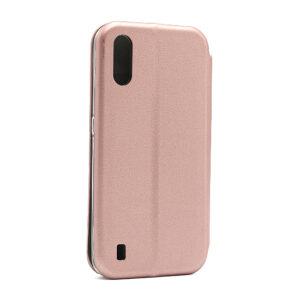 Futrola na preklop Samsung A01 roze (F86245)