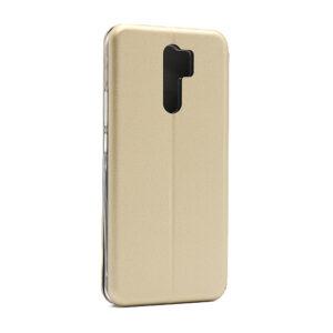 Futrola na preklop Xiaomi Redmi 9 zlatna (F86255)