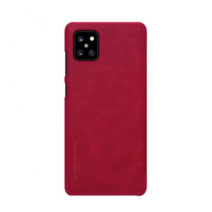 Kožna Futrola za Samsung Note 10 Lite crvena (76866)