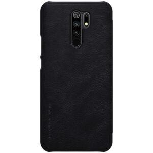 Kožna Futrola za Xiaomi Redmi 9 crna (85610)