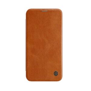 Kožna Futrola za iPhone 12 Mini braon (85856)