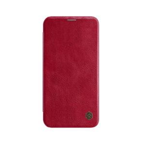 Kožna Futrola za iPhone 12 Mini crvena (85858)