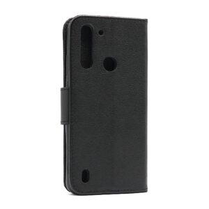 Moto G8 Power Lite futrola preklopna crna (F86489)