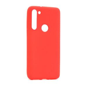 Motorola Moto G8 maska crvena mat (F85885)