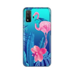 Print maska za Huawei P Smart 2020 flamingo (016922)