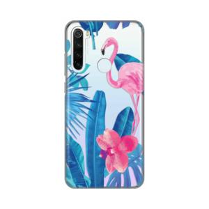Print maska za Xiaomi Redmi Note 8T flamingo (016947)
