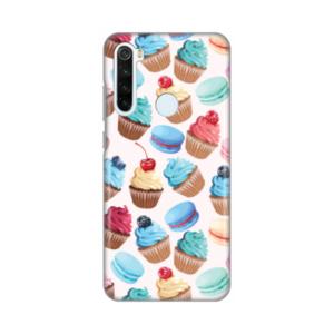 Print maska za Xiaomi Redmi Note 8T kolači (016839)