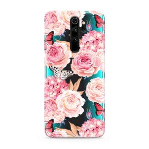 Print maska za Xiaomi Redmi Note 8 ruže (F84445)