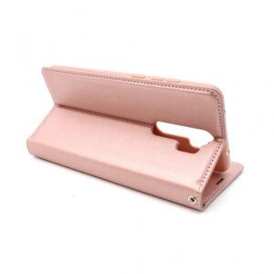 Xiaomi Redmi Note 8 Pro preklopna futrola roze (74492)