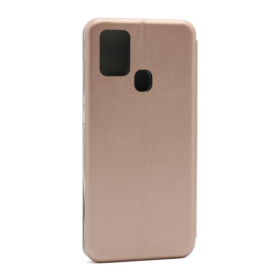 Futrola na preklop Samsung A21s roze leđa