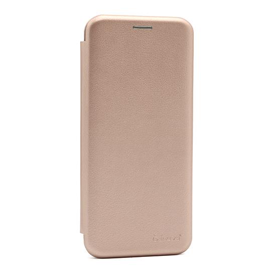 Futrola na preklop Samsung A21s roze lice