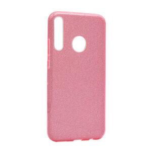 Huawei P40 Lite E maska roze sa šljokicama (F85647)