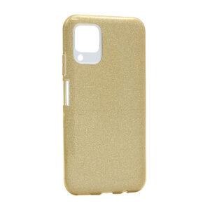 Huawei P40 Lite maska zlatna sa šljokicama (F85666)