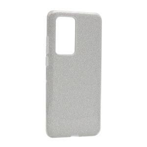Huawei P40 Pro maska srebrna sa šljokicama (F85670)